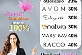 Kit c/10 mini perfumes amei cosmeticos oferece oportunidade para voce de todo brasil