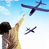 Brinquedo aviao planador novo jogue com as maos