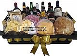 Cesta de queijos e vinho dia das mulheres na sé(11)2361 5884