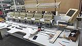 Maquina de bordar de 06 cabecas usada