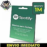 Cartao spotify premium  - assinatura 1 mes,  3 e 6 meses - gamebrshop