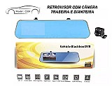 Espelho retrovisor tela 4 full hd camera re camera blackbox