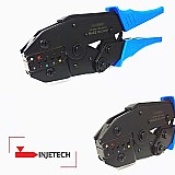 Alicate prensa terminal tubular dec eletricista marca hand crimping tools modelo ls- 06wf