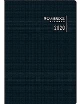 Agenda mensal cambridge planner 2020 20 folhas 178x254 tili