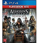 Assassins creed syndicate ps4 midia fisica novo portugues franquia assassin's creed saga assassin's creed título assassin's creed syndicate edição normal plataforma ps4 formato físico