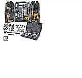 Jogo de ferramentas 129 pcs   40 soquete sparta pais top marca fertak tools modelo kit de ferramentas 40 pecas tipo de chave soquete material aço carbono
