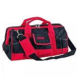 Bolsa grande em lona p/ferramentas 18pol c/ 32 bolsos mtx marca mtx modelo 902529 mtx quantidade de bolsos internos 10 quantidade de bolsos externos 32 altura 28 cm comprimento 46 cm