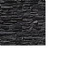 Papel de parede pedras preta canjiquinha escura vinilico