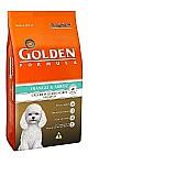 Racao golden formula premium especial cachorro adulto raca pequena frango/arroz 10.1kg