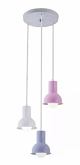 Luminaria pendente infantil menino collectiontrio collors m2 marca startec modelo collection collors m2