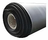Geomembrana de pead lisa preta espessura de 0, 5mm por m²       marca gbs geo     modelo pead 0, 50 mm