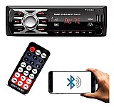 Som mp3 player automotivo usb aux radio micro sd marca first option modelo 6680