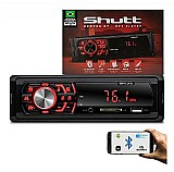 Mp3 player automotivo denver bt 1 din usb sd fm p2 shutt