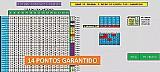 Planilha lotofacil famosa erre 5 acerte 14 pontos   brinde marca lotofacil plan modelo lotofacil