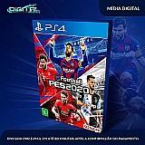 Efootball pes 2020   standard edition ps4 psn receba agora!  franquia pes saga pro evolution soccer