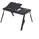 Mesa notebook dobravel com cooler base mesa cama portatil  marca tomate linha mesa notebook