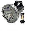 Lanterna holofote profissional t6 recarregavel ultra potente       marca kfg     modelo bivolt