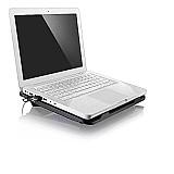 Cooler stand multilaser para notebook 17 ac263 com led azul marca multilaser linha gamer
