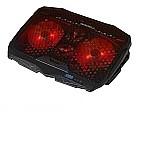 Base suporte cooler para notebook 17 led 4 coolers dx-006  marca dex linha dx-006