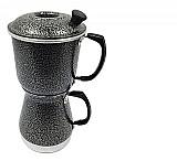Cafeteira aluminio extra forte cafeteira econômica preta aluminio extra forte aluminio extra forte