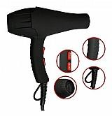 Secador de cabelos profissional turbo 8600 watts 110 e 220v       marca jie     modelo 9090