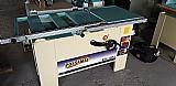 Serra esquadrejadeira, marca possamai, modelo sci1900, corte de 2000mm, corte na mesa fixa de aproximadamente 750mm  mostruário