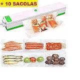 Seladora vacuo freshpack pro embaladora alimentos   sacolas       marca attus     modelo seladora
