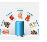 Mini seladora de alimentos a vacuo a pilha portatil   sacos  marca ydtech linha seladora manual portatil
