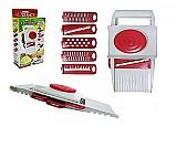 Cortador fatiador ralador 5 laminas frios e legumes - keita       marca keita     modelo fatiador ralador picador cortador 5 laminas