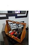 Bar tacas garrafeira decorativo casa  fabricante cido artesanato em madeira marca adega de vinho horizontal mesa em madeir