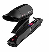Secador de prancha de cabelo cadence com bag - bivolt       marca cadence     modelo kit570
