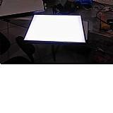 Mesa de luz - a5 para transposicao desenho led branco