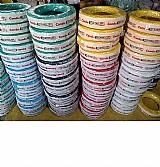 Fio eletrico flexivel 2, 5mm colorido cabo eletrico marca condueletro modelo flexivel