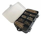 Kit parafusos chipboard   buchas   brinde (200 pcs) marca bokz tipo de parafuso chipboard