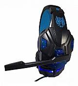 Fone de ouvido gamer exbom hf-g390p4 azul e led marca exbom modelo hf-g390p4