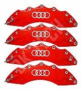 Capa pinca de freio audi a1 a3 a4 q3 q5 tt vermelho full marca capa pinca de freio audi s line rs a1 a3 a4 a5 tt q3