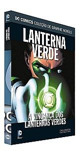 Graphic novel a vinganca dos lanternas verdes