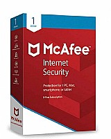 Mcafee internet security 1 ano 1 pc .. leia descricao
