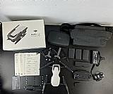 Dji mavic air fly more combo camera drone portatil 4k - branco   4 baterias