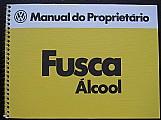 Manual do proprietario fusca 1980-81 - álcool