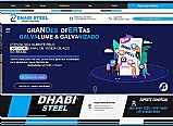Dhabi steel digital em galvalume 0, 40mm