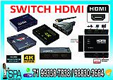 Adaptador switch chaveadora hdmi 3x1