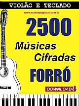 2500 cifras musicais de forro - via download