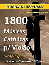Musicas catolicas – 1800 cifras musicais