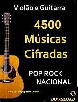 Pop rock nacional – 4500 cifras musicais