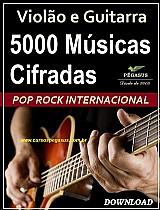 Pop rock internacional – 5000 cifras musicais