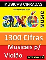 Axé music - 1300 musicas cifradas