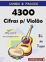Samba e pagode – 4300 cifras musicais