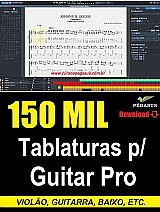 150 mil tablaturas para guitar pro – via download