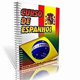 Curso de espanhol em apostilas com desenhos e passo a passo